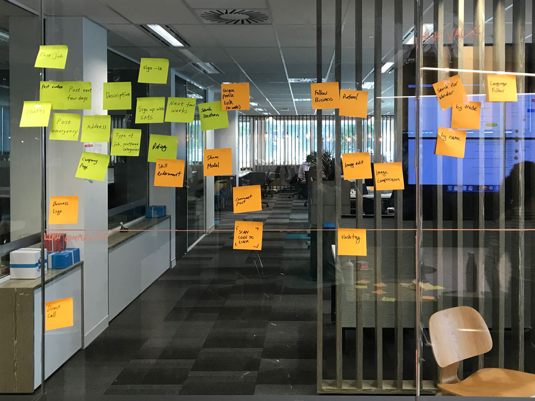 post its are ux